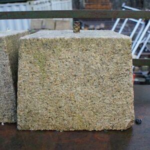 250/300mm CLEARANCE Granite Tapered Staddle Stone/Oak Framed Building Pad/Settle