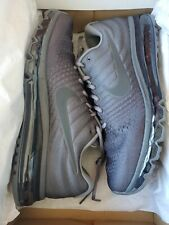 """Nike Air Max 2017 """"(849559-008) COOL GREY/ Running Shoes 12 Men Size"""