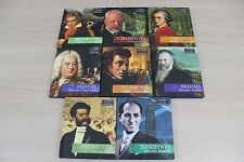 Classic Composers Series 8 CD Lot Early Late Romantic Baroque Modern Classical