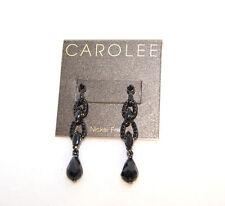 Carolee Black Earrings Retail $45