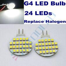 4x Wall lamp Garden light Cool White G4 LED Bulb 24LEDs Replace 20W Halogen bulb