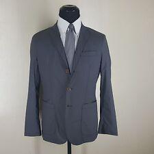 AT.P.CO Gray Feather Weight 100% Nylon Shirt Jacket  3 Btn No Vents  Large  Slim