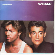 """WHAM! The Edge Of Heaven PICTURE SLEEVE GEORGE MICHAEL NEW 7"""" 45 rpm record"""