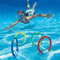 1Pc Swimming Pool Toys Diving Ring Underwater Swimming Game Summer Kids Gift Acc