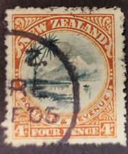New Zealand 1900  4d Taupo  used A2