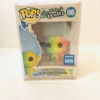 Funko POP! Trolls Blue Troll Vinyl Figure #06 Rainbow Wondrous Convention Ltd Ed