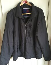 Free Country Black Zip Front Down Style Coat Men's XL 46-48