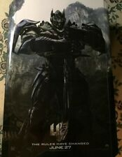 TRANSFORMERS 4 : Age Of Extinction Authentic 27x40 D/S Movie Poster.