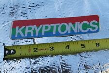 Kryptonics Skateboards Wheels Gordon Smith G&S 70's Skateboarding STICKER