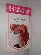 AURORA BLU Margaret Way Harlequin Mondadori 1990 Collana Harmony romanzo libro