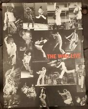 The Who Live - Ross Halfin Ltd Signed Rare Coffee Table Book Genesis Books 2000