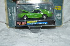Racing Champions Hot Rod Collectibles Green '68 AMX Javelin w/Real Riders