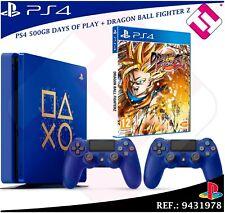 PS4 500GB 2 MANDOS + JUEGO FISICO CD FISICO DRAGON BALL FIGHTER Z DAYS OF PLAY