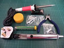 Duratool 30W Soldering / Desoldering Tool Kit With Spares & Cutters ZD-920C k55