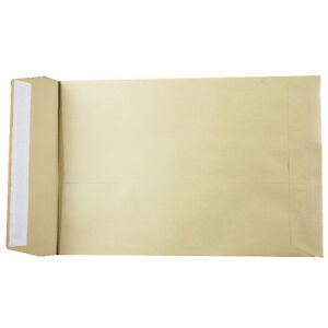 Brown Gusset Envelopes - C4 with 25mm Gusset - 115gsm - Box 125 A4