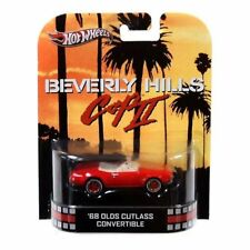 Hot Wheels Retro Beverly Hills Cop II Car '68 Olds Cutlass Convertible