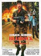 Braddock Missing In Action 3 Poster 02 A2 Box Canvas Print