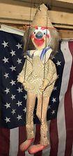Antique CLOWN MARIONETTE * Antique Clown Puppet