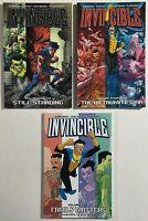 Invincible 1 Family Matters, 12 Still Standing, 14 The Viltrumite War Image TPB