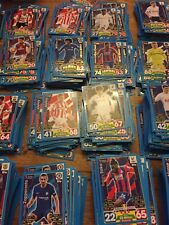 MATCH ATTAX EXTRA 2017/18 FULL SET OF ALL 208 CARDS COMPLETE