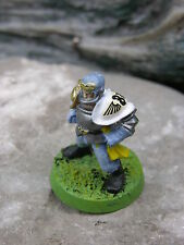 BLOOD BOWL  HUMAN BLOCKER, PLASTIC, PAINTED