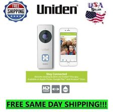 Uniden Wireless Doorbell Security Camera 1080p Wifi Video Door Bell Ring Chime