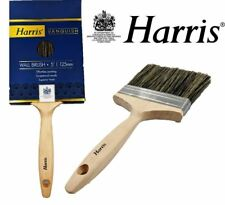 "Harris Professional Large Area Wall Paint Brush 5"" Wide Fence Ceiling Roof Wall"