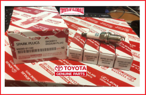 TOYOTA SCION LEXUS GENUINE OEM IRIDIUM SPARK PLUG SET OF 4 FAST SHIP 90080-91180