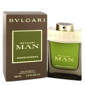 "BVLGARI MAN WOOD ESSENCE 3.4 oz / 100 ml Eau de Parfum "" EDP "" Men Cologne Spray"