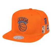 Mitchell & Ness Orange NBA New York Knicks Blue Under Finals HWC Snapback