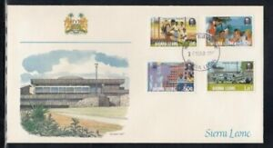 SIERRA LEONE Commonwealth Day FIRST DAY COVER