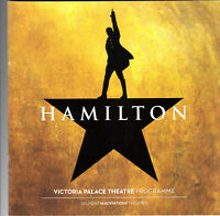 Hamilton, Victoria palace London,1 programme, + USED ticket + theatre guide