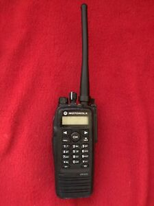 Motorola XPR6550 Mototrbo VHF 136-174mhz digital DMR Radio With impres charger