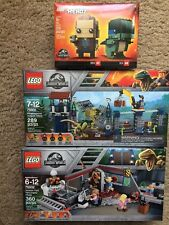 LEGO Jurassic World Park 75931 75932 41614 BrickHeadz Blue  Exclusive Brand New