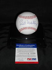 Peter O'malley signed Official National League baseball, PSA