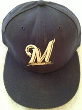 Game Used / Issued Ryan Braun Milwaukee Brewers Cap - MLB Authenticated