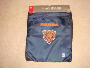 New NFL Chicago Bears Football Brian Urlacher Jersey Sling Drawstring Backpack