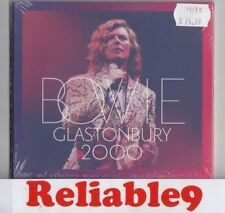 David Bowie - Glastonbury 2000 Live 2CD Digipak Sealed- 2000/2018 BBC-Made in EU
