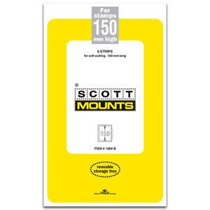 Scott/Prinz Pre-Cut Souvenir Sheets Small Panes Stamp Mounts 165x150 #1009 Clear