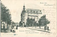 Nordhausen, Friedrich Wilhelm-Platz mit Krystall-Palast, alte Ak von 1901