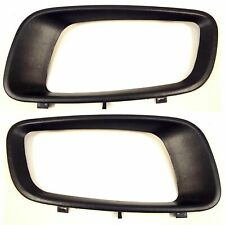 Mitsubishi Pajero Montero Fog Light Bezels Cover Set Right Left 2000-2003 NEW