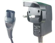 Philips HS8020 Shaver Razor 3 Pin Charger Power Lead