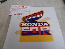 NOS OEM Honda L Fuel Tank Emblem 1985 Z50R Mini Bike 87123-181-900