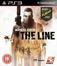 PS3 GIOCO ** SPEC OPS la linea include Fubar Pack - 1 ° Classe Consegna