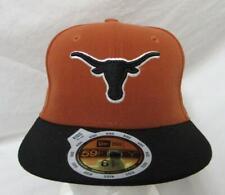 New Era 59Fifty Texas Longhorns Kids Size 6 5/8 Baseball Cap Hat E1 756