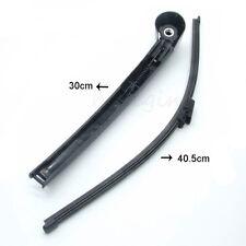 Windscreen Window Rear Windshield Wiper Arm + Blade Set For Golf Polo Touran VW