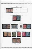 france 1930-37 stamps page ref 19844