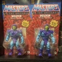 Masters of the Universe MOTU Origins UNPUNCHED CARD Skeletor MOC Action Figure