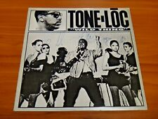 "Tone-Loc Signed Wild Thing 33 rpm Vinyl 12"" Record JSA/PSA Guarantee"