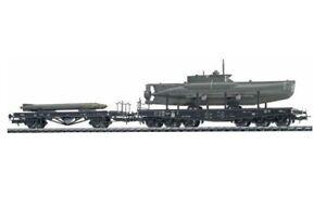 Liliput - HO/H0 - L240067 - U-Boat Transport Set - SEEHUND & Torpedoes - EP II